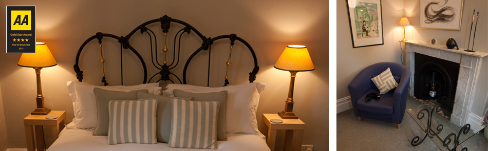 Guestrooms at Beckford House
